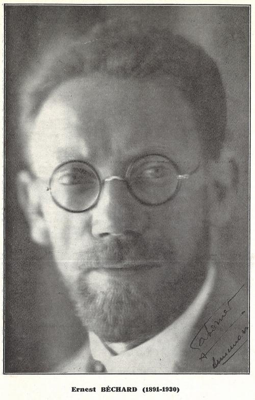 Ernest Béchard - portrait