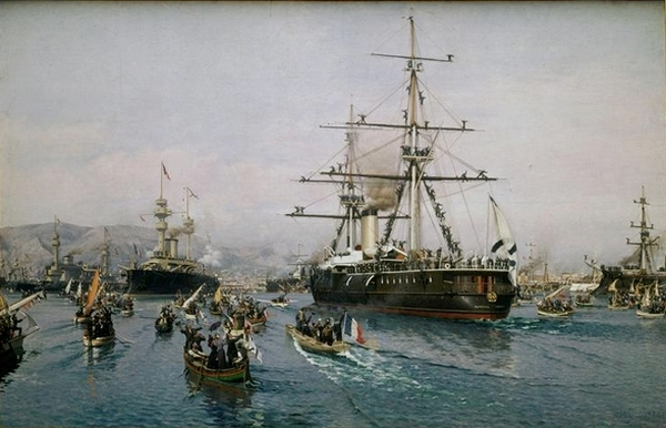 Annecy au marins russes